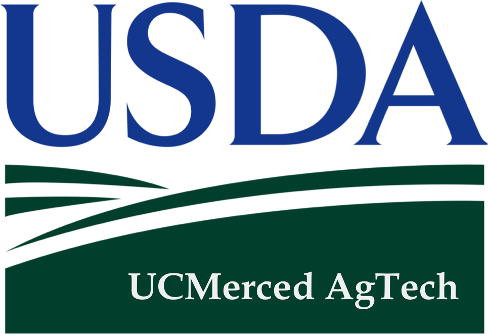 USDA Logo and UC Merced
